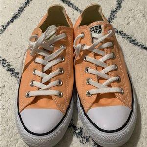Sherbet Orange Converse